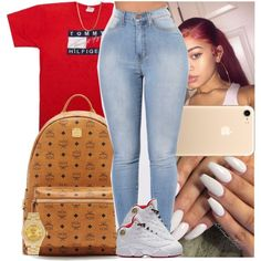 A fashion look from August 2017 featuring vintage tees, blue skinny jeans and gold jewelry. Browse and shop related looks. Swag Outfits For Girls, Cute Swag Outfits, Teenager Outfits, Dope Outfits, Trendy Outfits, Girl Outfits, School Outfits, Stylish Dresses, Latest Fashion Dresses