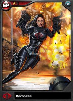 Baroness (Tactics) Evolution Line Baroness (Tactics) Comic Book Characters, Comic Character, Female Characters, Comic Books, Comic Art, Thundercats, Baroness Gi Joe, Marvel Dc, Marvel Comics