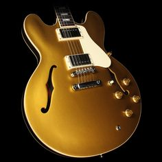 Gibson Memphis Limited Edition ES-335 Electric Guitar Goldtop