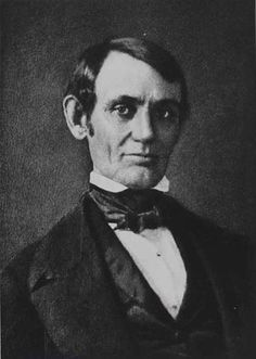 Abraham Lincoln: This is the earliest-known photograph of Abraham Lincoln, thought to have been taken in the mid-1840s. (To see the recent Hollywood movie 'Lincoln', go to http://megashare.info/full_watch.php?id=TlRnek1BPT0