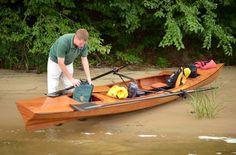 Chesapeake Light Craft Ocean Rowing Wherry