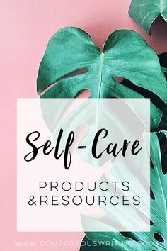 Looking for self-care and wellness products and resources? I've got ya covered. There's yoga videos and props, books, essential oils, self-care guides, and more!