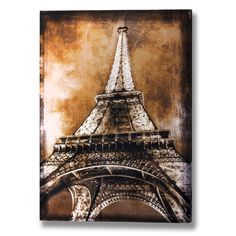 Giclee Print: Eiffel Tower by Erin Clark : Canvas Pictures, Print Pictures, Shabby Chic Canvases, Paris Wall Art, Cover Letter For Resume, Stationery Paper, Watercolor Paper, Paper Goods, Printing Process