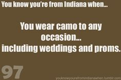 I have not worn camo to a wedding or prom... but I have been to wedding where people did where camo...