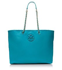Love this color. It would be stunning with a black outfit. Marion Tote by Tory Burch.  I'm going to add it to my #blisslist and see if I get it for #christmas. https://itunes.apple.com/us/app/blisslist-easy-shopping-gifting/id667837070
