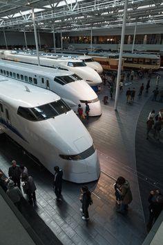 Maglev and Railway Museum, Nagoya, Japan リニア鉄道館