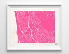 Daly City Print California Print Daly City Poster by InkistPrints