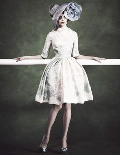 Aiste-Regina Kliveckaite by Damian Foxe for How To Spend It June 2012