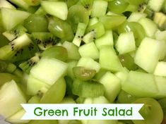 Holidays can be full of sugary treats, often loaded with food dyes. If you are looking for an easy way to create a green, yet healthy snack, green fruit salad is a perfect food to make. No added sugar, no artificial food dyes, just fruit! ...
