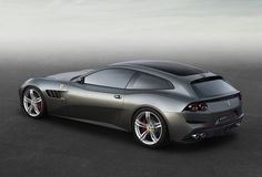 Four-wheel drive concept car Lusso Ferrari GTC4 03