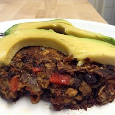 DINNER:  I just had the most amazing homemade black bean burgers w/ avocado!!  YUMMY - recipe here:  http://www.momables.com/easy-black-bean-veggie-burger-recipe/
