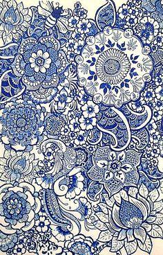 Porcelain Henna