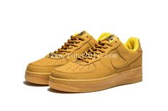 Nike Air Force 1 is again back to Flax classic color this year, the same wheat color shoes match raw rubber outsole, this kind of Nike Air Force 1 Low Wheat is still a joker in the invincibility of delicate appearance, presumably sentiment still hot! Nike Workout Shoes, All Nike Shoes, Nike Shoes Online, Cheap Running Shoes, Nike Shoes Cheap, Nike Shoes Outlet, Nike Running, Running Trainers, Cheap Nike Trainers