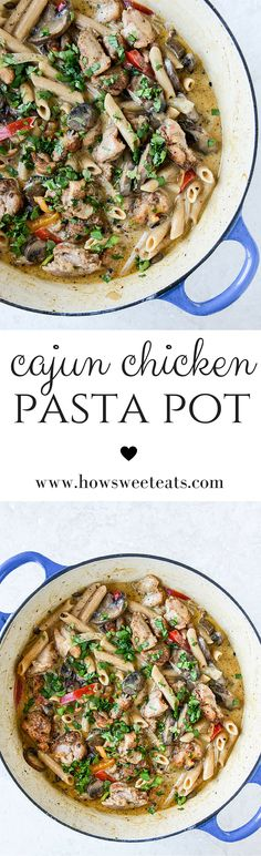 the best Cajun Chicken Pasta! by @howsweeteats I howsweeteats.com