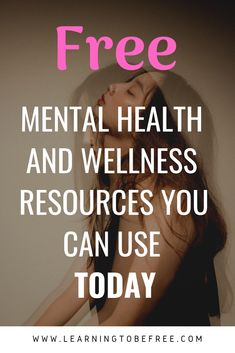 Everyone should be focusing on their mental health and wellness in 2019.  It is just as important as your physical health.  Want to learn more about Free mental health and wellness resources that you can use today? Click through to my blog post to read about these resources or save for later (and share with a friend!).