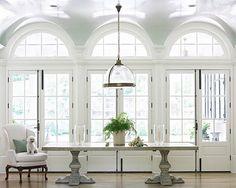 beth webb glossy ceilings entry hall foyer living room