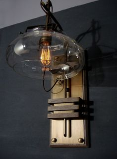 ~ Donovan Design Steampunk Wall Lamp