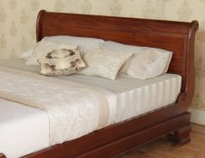 Sleigh beds are the perfect choice for many homes. Their timeless, classic style fitting in both traditional or modern properties. Visit our website to see our full range. Barrel Furniture, Bedroom Furniture, Timeless Classic, Classic Style, Mahogany Furniture, Modern Properties, Sleigh Beds, Bed Frame, King Size