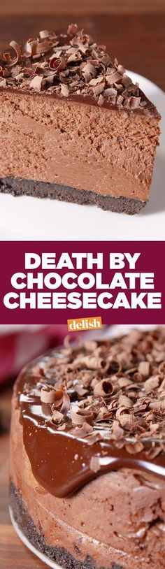 awesome Death By Chocolate Cheesecake