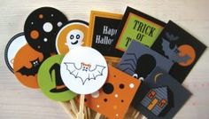 Free printable Halloween cupcake toppers