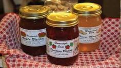 Honey Bee's-TN local honey, jams, jellies, chow chow, pickled goods, gourmet soups, dips, and more. Located in the Arts and Crafts Community in Gatlinburg.