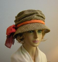 Paige Seagrass Hat, packable for travel, choose your silk scarf color,womens straw hat by LuminataCo on Etsy https://www.etsy.com/listing/47362480/paige-seagrass-hat-packable-for-travel
