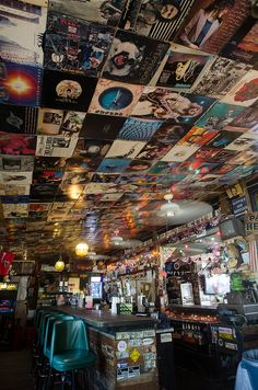 This month's featured dive bar is located on an island with a beach nearby!