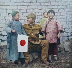 japanese soldier (Japanese propaganda photo)