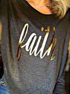 Faith Longsleeve Ribbed Tee