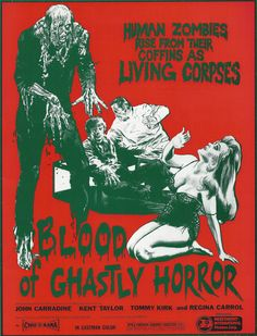 """Blood of Ghastly Horror"" (1967) A mad scientist implants an electronic device into the brain of an injured soldier, which turns him into a psychotic killer."