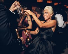 The Academy Awards might be the high point of awards season, but the most celebrated names in Hollywood don't end their evenings there. That's where the Vanity Fair Oscar Party comes in. Olivia Coleman, Glenn Close, Selma Blair, Regina King, Mark Ronson, Lisa Bonet, Paris Jackson, Snoop Dogg, Orlando Bloom