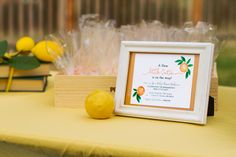 Citrus Baby Shower I