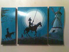 Cuadro representativo de Don Quijote de la Mancha