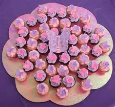 pink and purple cupcakes ideas 3