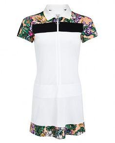 Volley Tennis Dress - CostaFloraPrint | dresses / skirts | Sweaty Betty