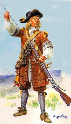 Austrian musketeer