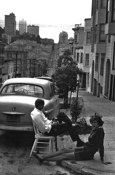 San Francisco by Henri Cartier Bresson