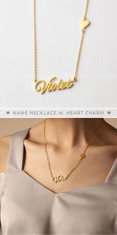 Personalized Name Necklace with Heart Charm • Name Necklace With Heart • rose gold name necklace • custom name necklace silver • nameplate necklace • Personalized Nameplate Necklace • Handwriting Name Necklace • personalized name necklace gold • personalised necklaces • Sister jewelry • Minimalist jewelry • good christmas gifts for teens • xmas gifts for her • birthday presents for her • kids christmas gifts • unique birthday gifts for girls • couples christmas gifts