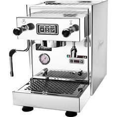 Description: The Pasquini Livia G4 espresso machine replaces the discontinued Pasquini Livia 90 semi-automatic that was produced for over 15 years. The G4 brings a refreshing, new stylistic fortitude