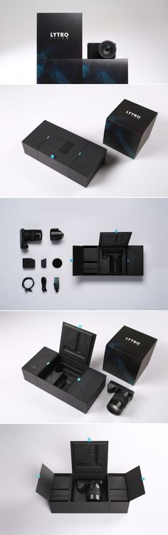 Lytro ILLUM — The Dieline - Branding & Packaging Design - created via https://pinthemall.net http://www.thedieline.com/blog/2015/2/9/lytro-illum