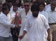 Funeral Of Sitara Devi