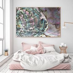 home Photography Interior - Mineral Photography (Print Abalone Fine Art Print Two Paper Choices Mineral Geode Agate Crystal Decor Print Place, Crystal Decor, Crystal Bedroom Decor, Home And Deco, Resin Art, Decoration, Decorating Your Home, Minerals, Fine Art Prints