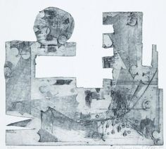 Vladimír Boudník (1924 - 1968): Aktivní grafika (1960) Mount Rushmore, Mountains, Nature, Painting, Patterns, Art, Block Prints, Art Background, Naturaleza