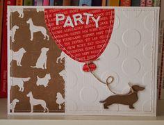handmade by margaretha: {dog} Party