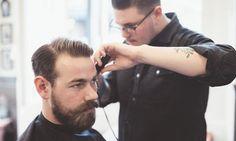 Groupon - By Luciana Esper – Butantã: corte masculino estilizado (opção com design de barba)  em By Luciana Esper. Preço da oferta Groupon: R$19,90