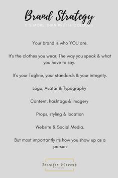 not found - Jennifer Stevens Branding StrategyBranding Strategy What is a Brand and Do I Need One - Free Branding Checklist by Kaespo Self Branding, Personal Branding, Branding Design, Logo Design, Brand Identity Design, Branding Tools, Branding Your Business, Business Advice, Creative Business