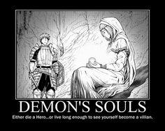 Demon's Souls: The Choice by BunjiTheWolf on DeviantArt