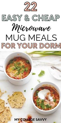 Homemade Microwave Meals, Easy Microwave Recipes, Microwave Dishes, College Cooking, College Meals, College Dorm Food, College Guide, College Recipes, Cafeteria Food