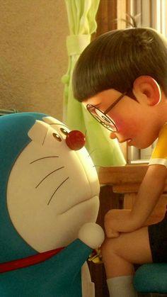 Nobita And Doraemon Cute Cartoon Pictures, Cute Love Cartoons, Cartoon Wallpaper Hd, Disney Wallpaper, Love Wallpapers Romantic, Cute Wallpapers, Doraemon Stand By Me, Doremon Cartoon, Cartoon Songs