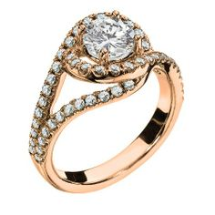 Antique Engagement Rings In Rose Gold 20